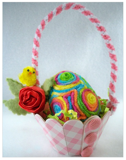 Mini Easter Basket Sizzix