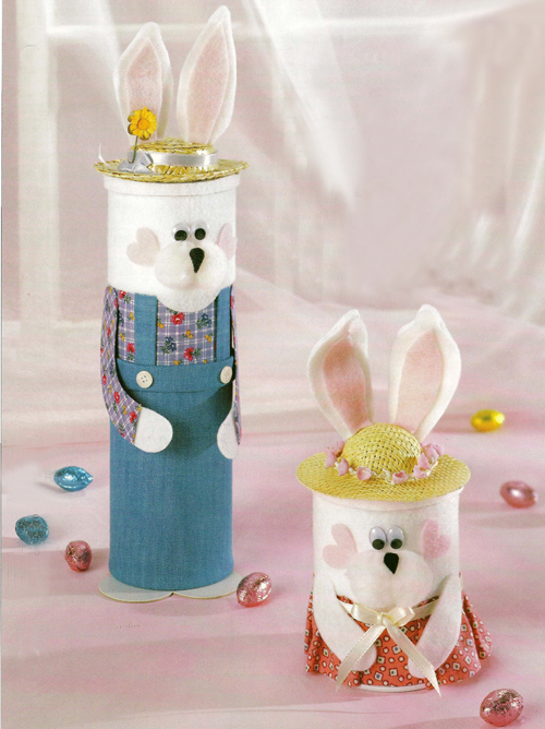 Mr and Mrs Easter Rabbit