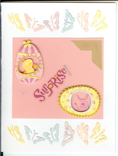Surprise Easter Card