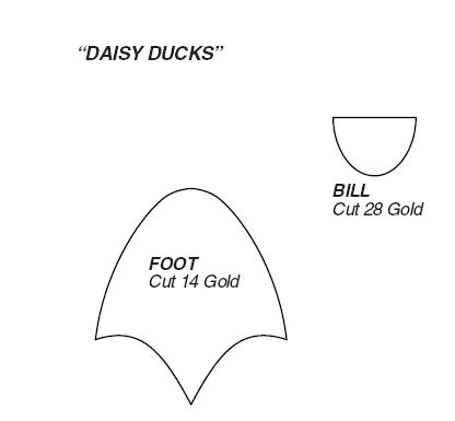 Daisy Duck Pattern