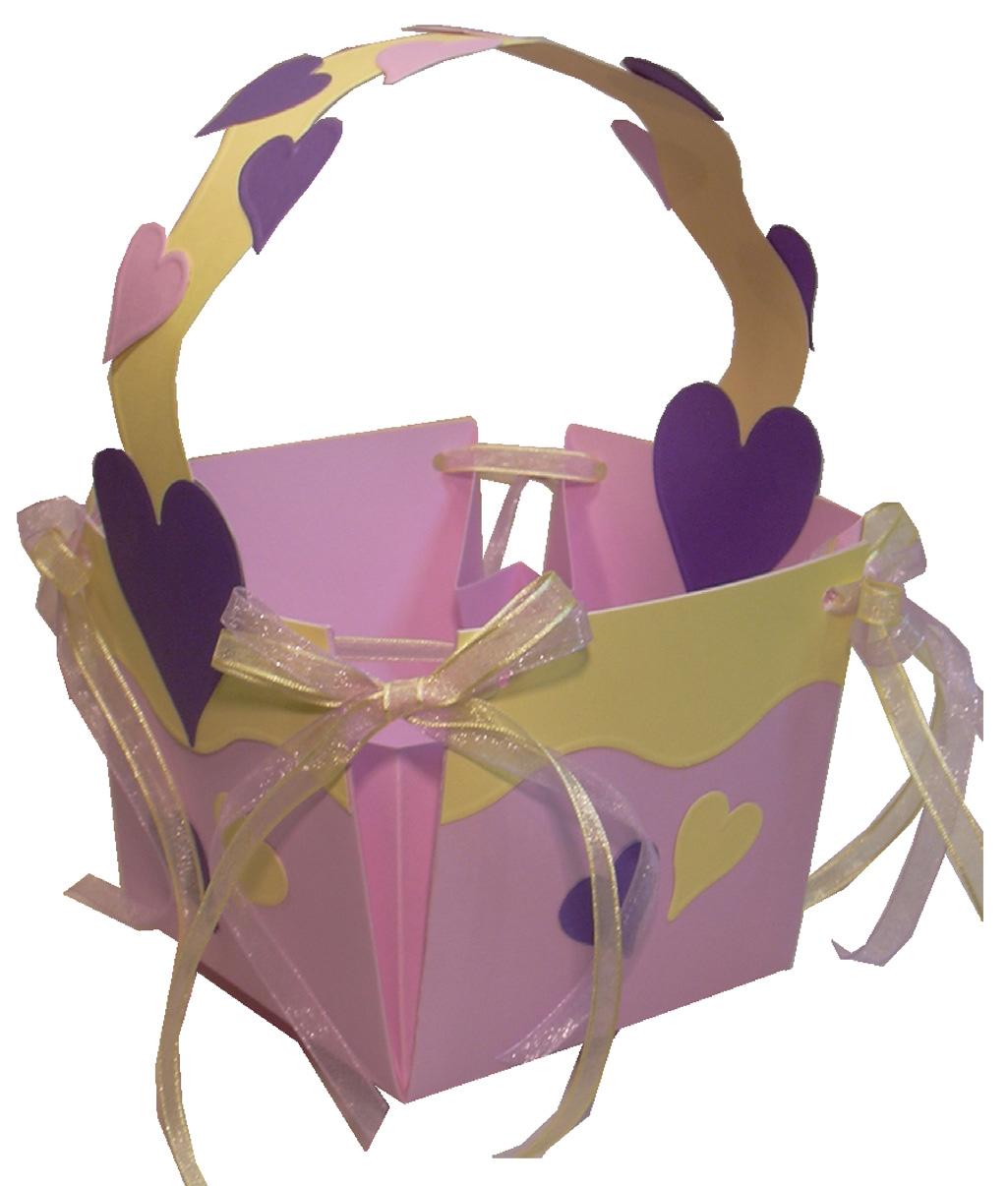 Card Stock Easter Basket