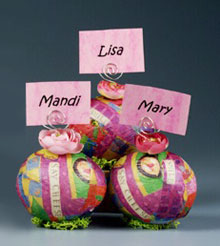 Completely Colorful Easter Placecard Holders