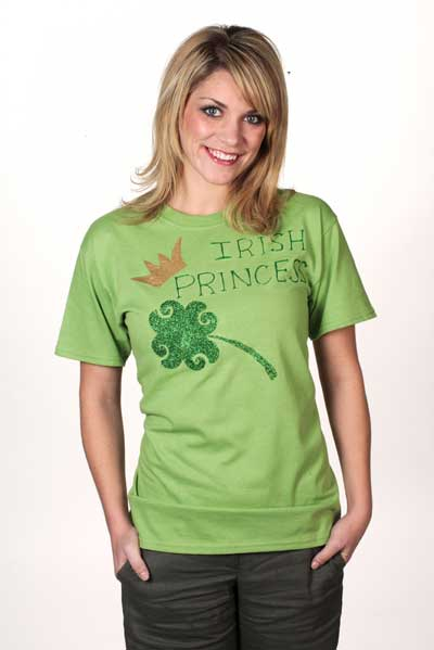 St. Patrick's Day Irish Princess T-Shirt