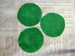 Sparkly Shamrock Card