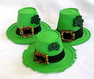 Mini Leprechaun Hats