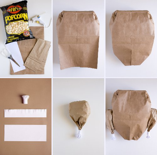 Paper Bag Turkey Steps