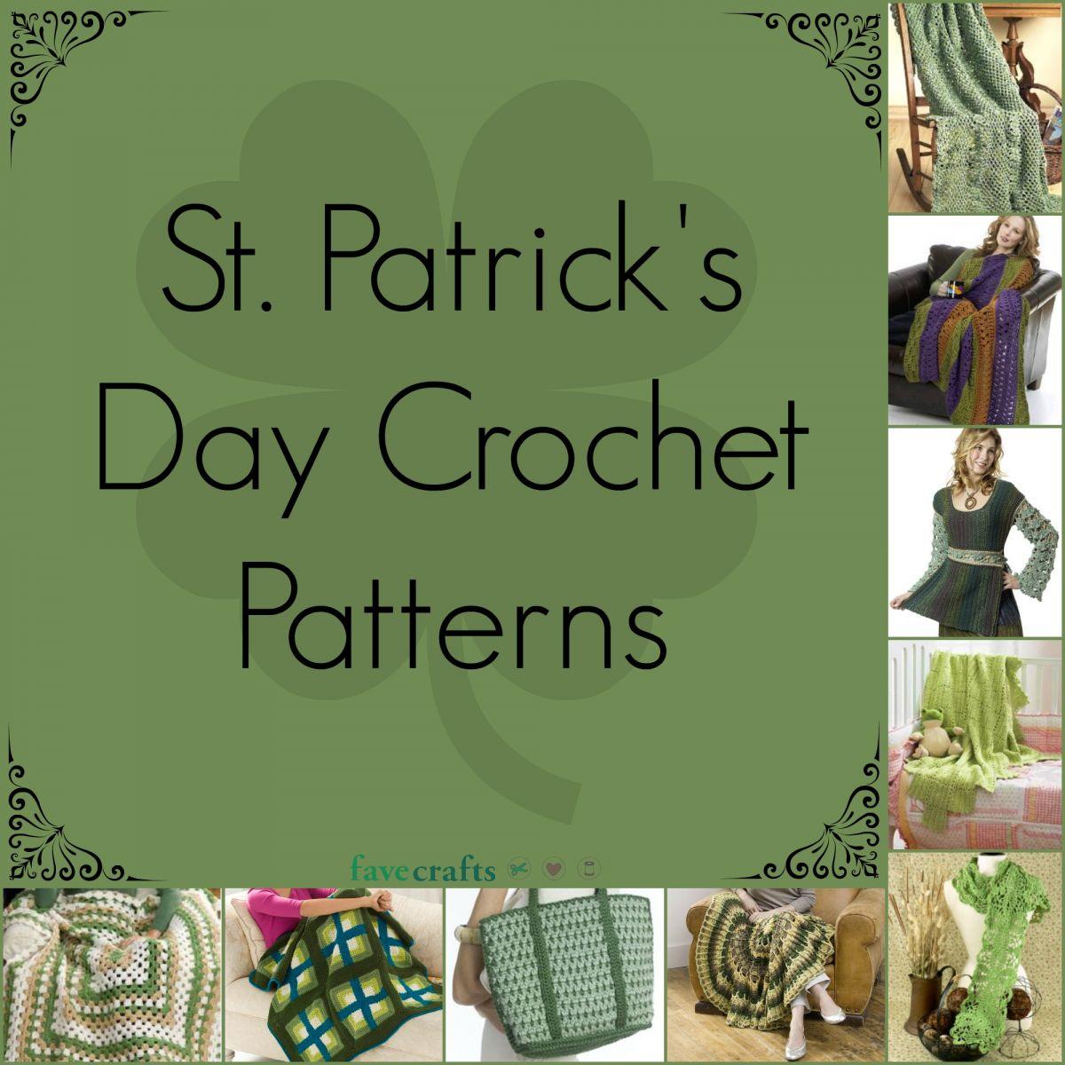 18 st patrick u0027s day crochet patterns favecrafts com