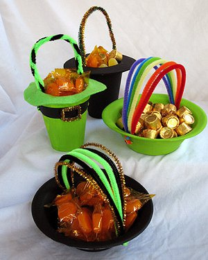 Pot of Gold Candy Holder
