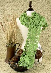 Green Sheen Scarf