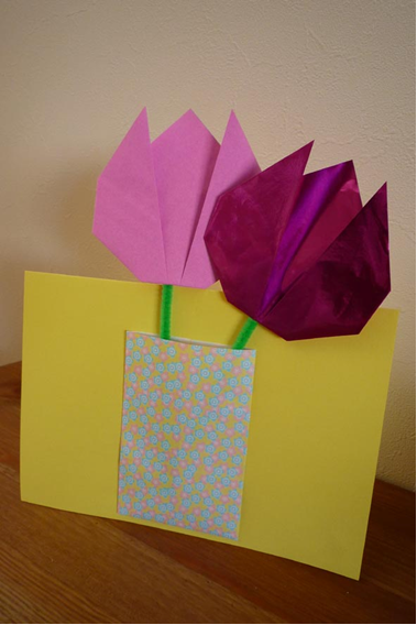 Origami Tulips Finished