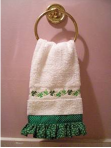 Guest Towel for St. Patrick's Day