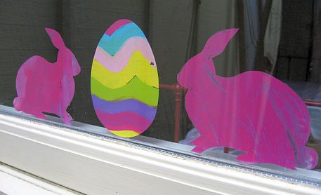 Easter Egg Window Clings 7