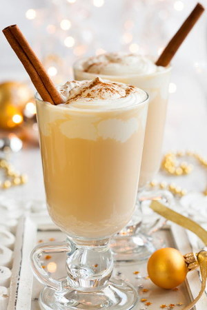 Homemade Holiday Eggnog
