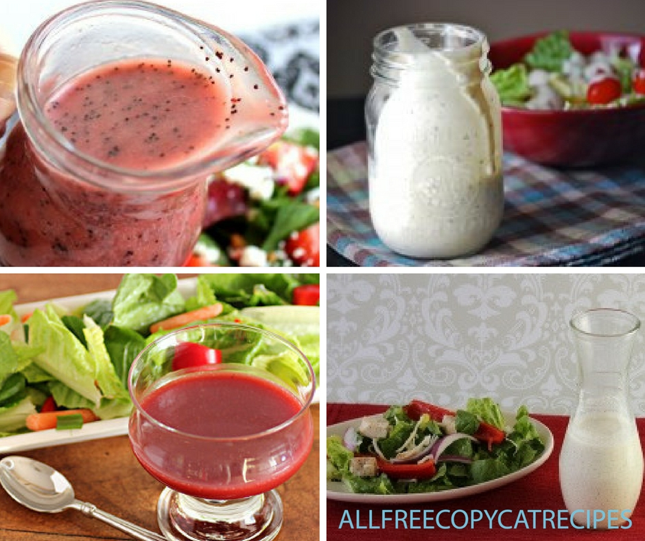 How to Make Salad Dressing and Copycat Sauces 12 Homemade Dressing and Sauce Recipes