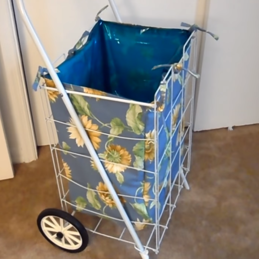 How to Make a Grocery Cart Liner