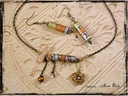 Blooming Cylinder Necklace Favecrafts Com