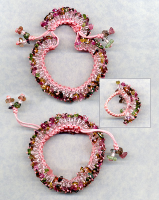101 free beading patterns favecrafts macrame meteor bracelet fandeluxe Images