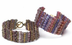 Building Blocks Beaded Cuff