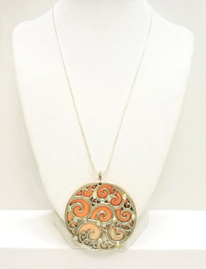 Colorful Clay Focal Pendant