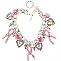 Breast Cancer Awareness Bracelets - Polyvore