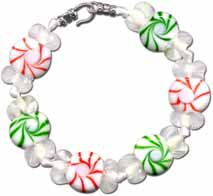 Christmas Peppermint Bracelet