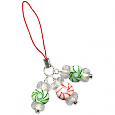 Christmas Peppermint Charm
