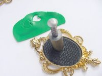 Lucky Irish Clay Pendant Step 6