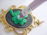 Lucky Irish Clay Pendant Step 9