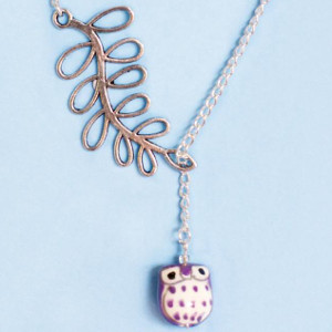 Mini Owl Necklace