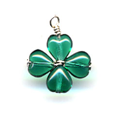 Four Leaf Clover Charm Finished Product