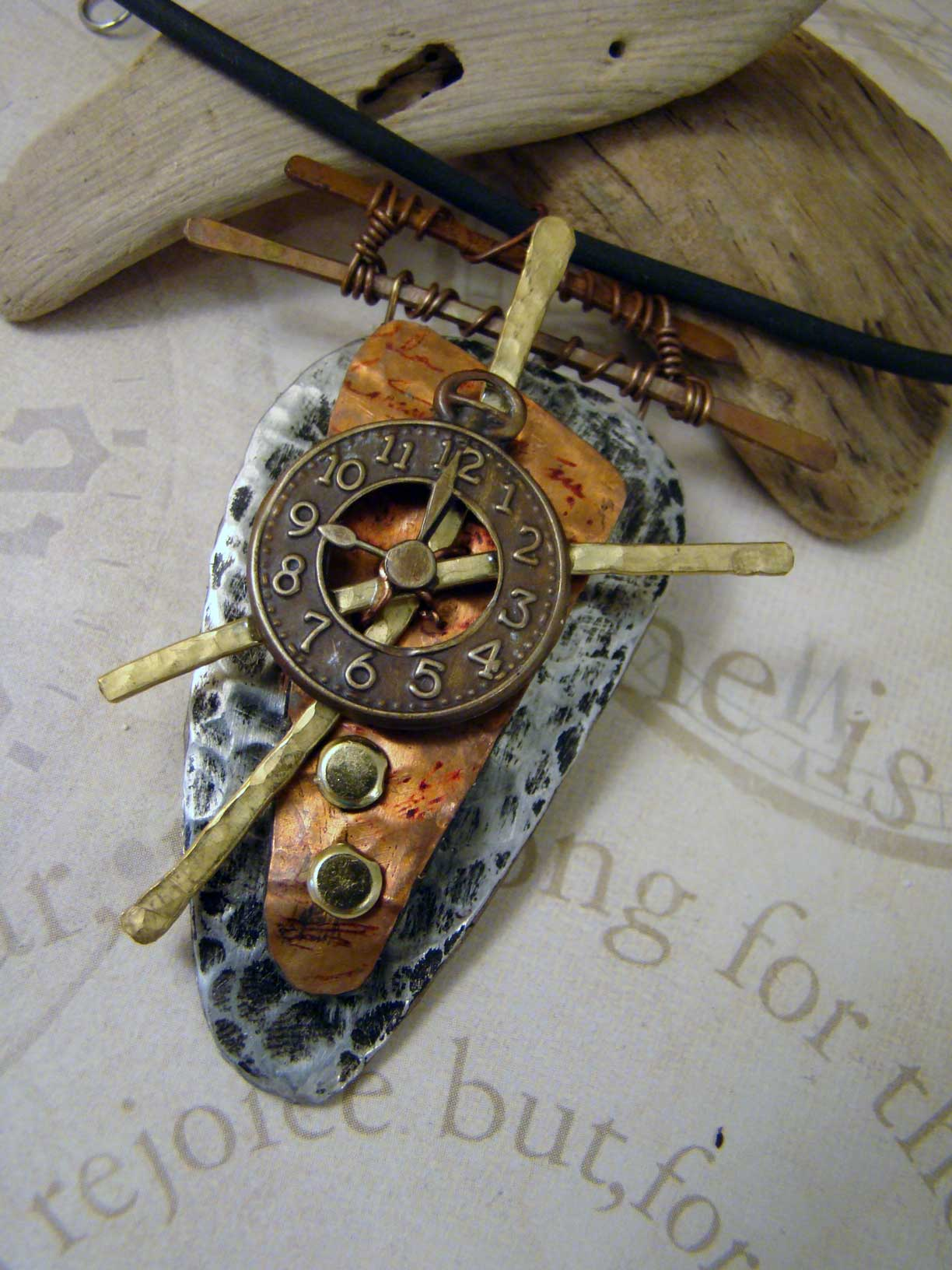 Making Steampunk Earrings