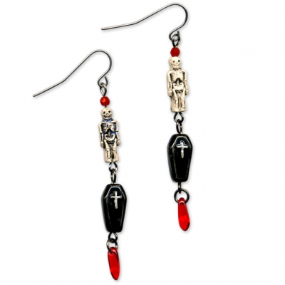 Halloween Transylvania Earrings