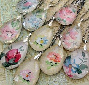 Chandelier pendant necklace favecrafts vintage pendants aloadofball Choice Image