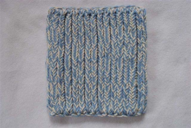 2 Hour Knitted Potholder