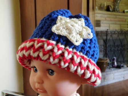 American Flag Loom Knit Hat  Version 3  6f92c0a3b7f