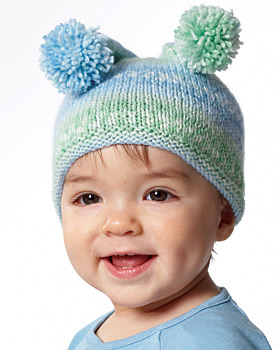 Baby Knit Jester Hat