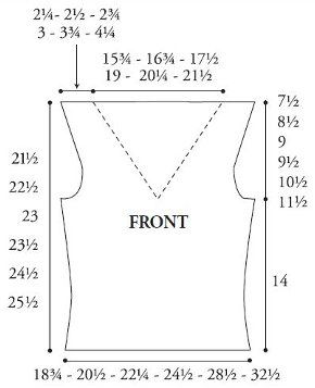 Bamboo Knit Top Pattern1