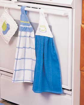 Knit Towel Hangers