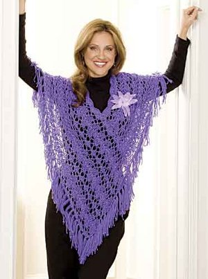 31 Knit and Crochet Ponchos | FaveCrafts.com