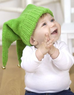 Jingle Jester Baby Hat Knitting Pattern  787bb9efc899