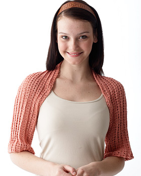 Knit Shoulder Shrug