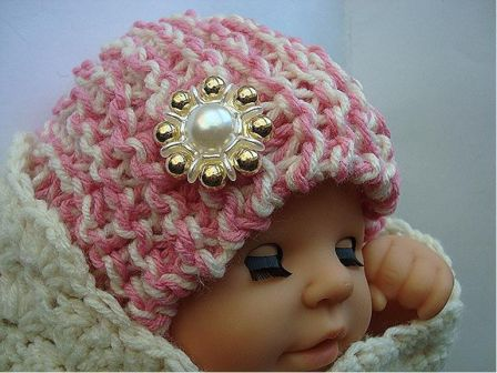 Easy Newborn Hat Knitting Pattern Favecrafts