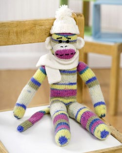 Knit Sock Monkey