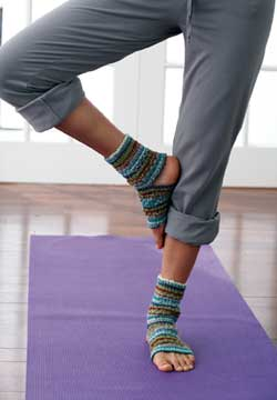 Yoga Socks Adult Knitting Patterns