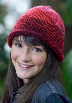 Knitted Brim Hat | FaveCrafts.com