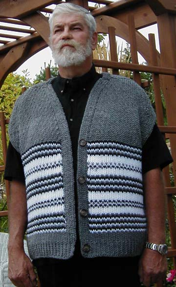 Men's Traditional Stripped Vest