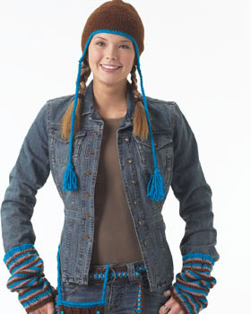 Snowboarder Style Knit Hat
