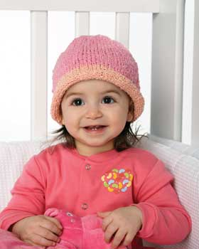 Stretchy Knit Baby Hat