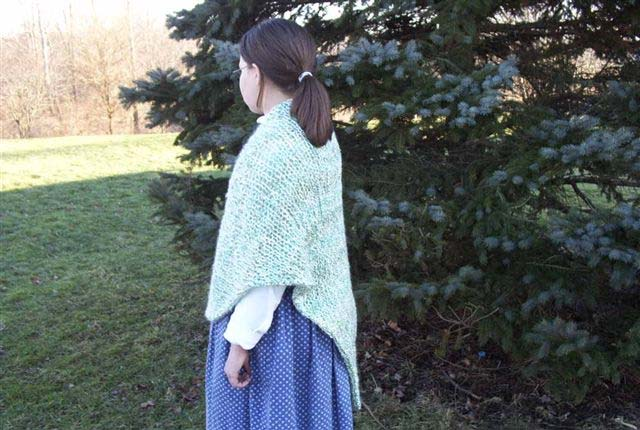 Three Seasons Knit Shawl