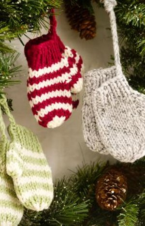 Knit Mitten Ornaments Favecrafts